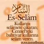 ES-SELAM ZİKRİ(hastalıkların tedavisi,Allah'ın himayesine girmek,felaketlerden korunma)