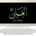 EL-ALİYY Esması ve zikrinin faydaları