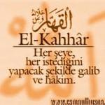 EL-KAHHAR ismi ve faziletleri
