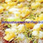 Oktay Usta'dan Hindistan cevizli, mısır unlu fındıklı tatlı