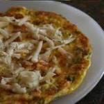 Peynirli ve dereotlu omlet