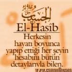 EL-HASİB zikri ve faydaları