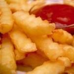 Diyet Patates Kızartması Tarifi(Bir kaşık Yağla Pataes Kızart)