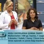 Hızlı Zayıflatan Çorba( Dr.Ayça Kaya)