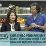 Ayda  8 kilo Verdiren  Diyet (Dr.Ayça kaya)
