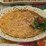 Kabaklı Dereotlu Omlet(Hafta sonu kahvaltısı için)