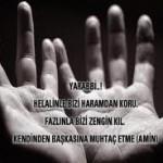 Sıkıntı ve müsibetlerden kurtulmak için okunacak hacet duası