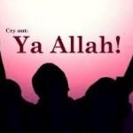 Gözyaşların duaya durduğu an...
