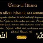 Esmaü'l-Hüsna Okuma saatleri,günleri,zikir sayıları