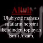 Esmaül Hüsna ile dua(ALLAH)