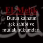 Esmaül Hüsna ile Dua(Ya Melik)