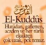 Esmaül Hüsna ile Dua (Ya Kuddüs)