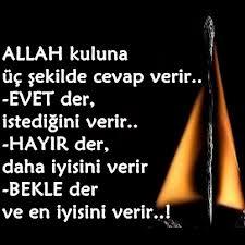 evet der Allah