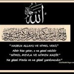HASBUNALLAHU VE Nİ'MEL VEKİL