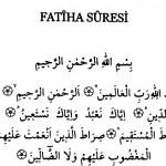Her gün Fatiha okumanın faydaları