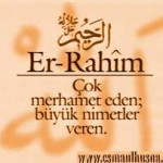 Er-Rahim zikir ile