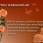 Mübarek Ramazan Ayı'nın Hayırlara Vesile Olmasını Dilerim