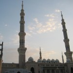 Medine Camii ve minareler