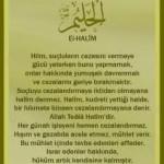 Halim isminin insan üzerindeki etkileri(hoşgörü,yumuşaklık,sakinlik)