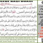 Muharrem ayın başında okunan dua(Tüm sene boyunca korunursun)