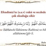 Peygamber Efendimiz(s.a.v)'in