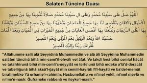Salaten-Tüncina-Duası