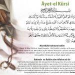 Muharrem ayının ilk günü(360 ) Âyet-el Kürsi okuyan istemediği her şeyden korunur