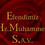 Hazreti Peygamber (s.a.v)'in mübarek isimleri ve okumanın fazileti ve havassı