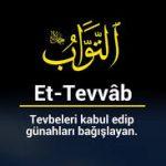 Günahların affı kötü huyun iyi ahlaka çevrilmesi-Duaların kabulü