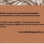 Mağfirete nail olmak-Allah rızasını kazanan kullardan olmak için Esma