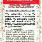 ENGELLERİ KALDIRAN-HAYIRLI KAPILARI AÇAN DUA