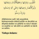 Şifa Salavatı(Kalplerin selameti-Bedenin afiyeti-Gözlerin nurlu ve ışıklı olması için salavat)
