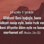 Peygamberimiz bu duada