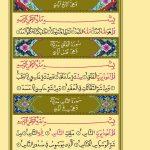 Her türlü zarardan korunmak için Sabah-Akşam(İhlas-Felak-Nas) Sürelerini okuyalım